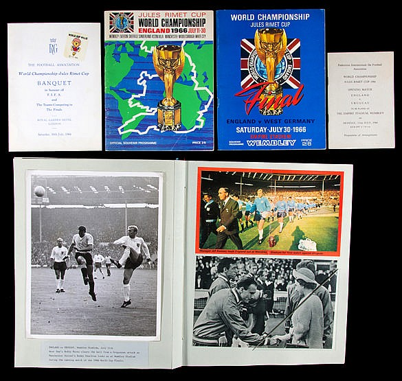 1966 World Cup souvenir album, superb record of the tournament with d