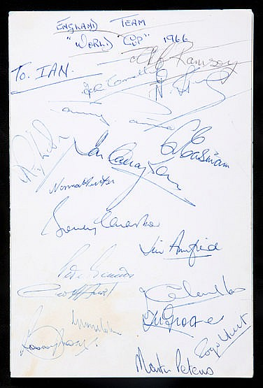 Autographed Football League Secretaries' and Managers' Association Ann
