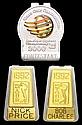 1992 PGA Tour clip badges named to Bob Charles and