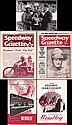 Post-war 1940s-50s speedway journals and