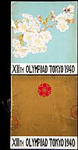 Two scarce booklets published by the Organising Committee of the [cancelled] 1940 Tokyo Olympic Games
