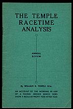 Temple (William K.) The Temple Racetime Analysis Annual Review of 1939