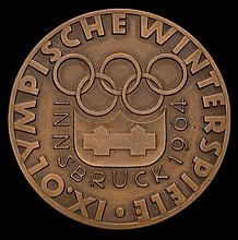 Innsbruck 1964 Winter Olympic Games participation medal