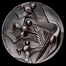 A 1964 Tokyo Olympic Games participation medal
