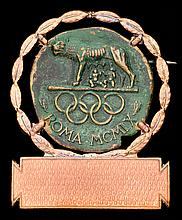 Rome 1960 Olympic Games badge
