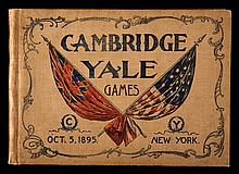 Official Programme of the Cambridge v Yale International Athletics Games held at Manhattan Field