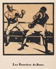 William Nicholson (1872-1949) LES EXERCICES DE BOXE lithographic transfer of a hand coloured woodcut, Sir William Nicholson, £110