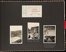 A pair of Berlin 1936 Olympic Games souvenir photograph album