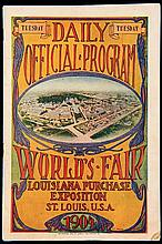 1904 St Louis Olympic Games daily official programme for Tuesday 30th August and featuring the marathon race