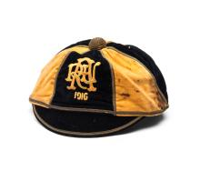 Auckland [New Zealand] Rugby Football Union representative cap 1916, black