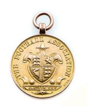 Football Association Amateur Cup runners-up medal season 1911-12 awarded to