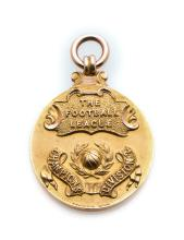 Football League Division Two Championship winner's medal awarded to the She