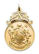 F.A. Cup runners-up medal awarded to a Manchester City player in 1926, 9ct.
