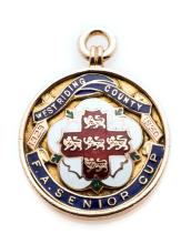 West Riding F.A. County Senior Cup winner's medal awarded to a Bradford Cit