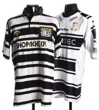 ed169552b Karl Harrison signed Hull FC Rugby League No.8 shirt