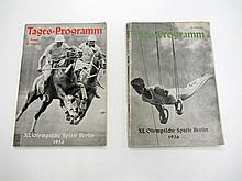 1936 Berlin Olympic Games memorabilia, a book by