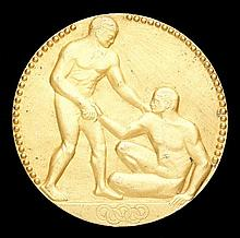 A Paris 1924 Olympic Games gold first place