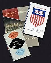 Three 1956 Melbourne Olympic Games publications,