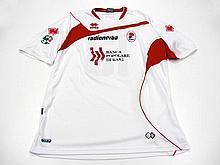 Andrea Ranocchia: a white Bari No.13 SerieA jersey