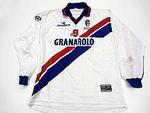 Nicola Ventola: a white Bologna No.9 Serie A