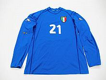 Marco Delvecchio: a blue Italy No.21 FC