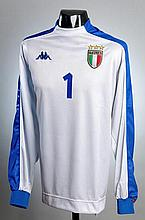Gianluigi Buffon: a grey Italy international
