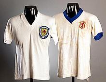 A white No.4 Scottish Football League