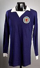 Billy McNeill: a blue Scotland No.5 international
