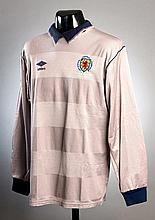 Jim Leighton: a grey Scotland international