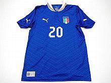 Sebastian Giovinco: a signed blue Italy No.20 FC