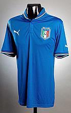 Daniele De Rossi: a blue Italy No.16 international