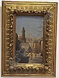 CARNIER, HENRI (1843-1901 French) ''Constantinople'', framed oil on wood panel, approximate image 12 3/8'' x 7 1/8'', approximate frame 19'' x 14'', signed lower right., H. Carnier, Click for value
