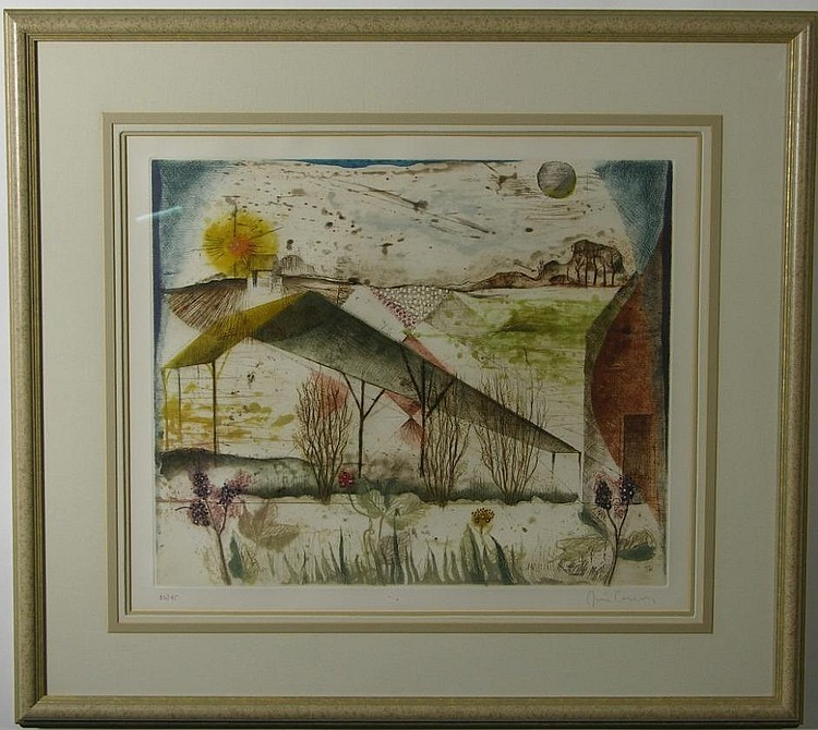 CARCAN RENE  (Born 1925 Belgian) Entret Deux