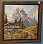 ***MOSER KURT (1925-1984 Austrian) Mountainous, Kurt Möser, Click for value