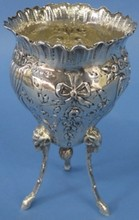 *ENGLISH STERLING SILVER FOOTED BOWL