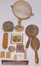 *GROUP OF DRESSER ACCESSORIES