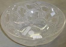 LALIQUE ART GLASS BOWL