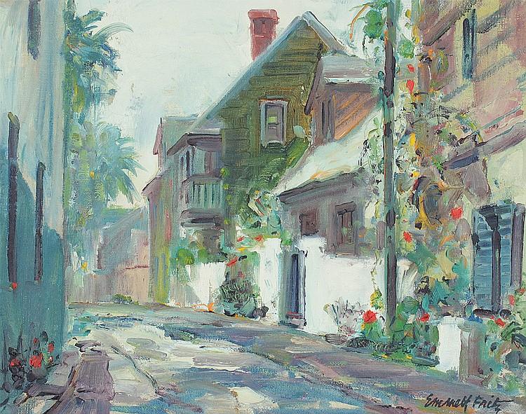 Emmett Fritz St Augustine Marine Street Painting