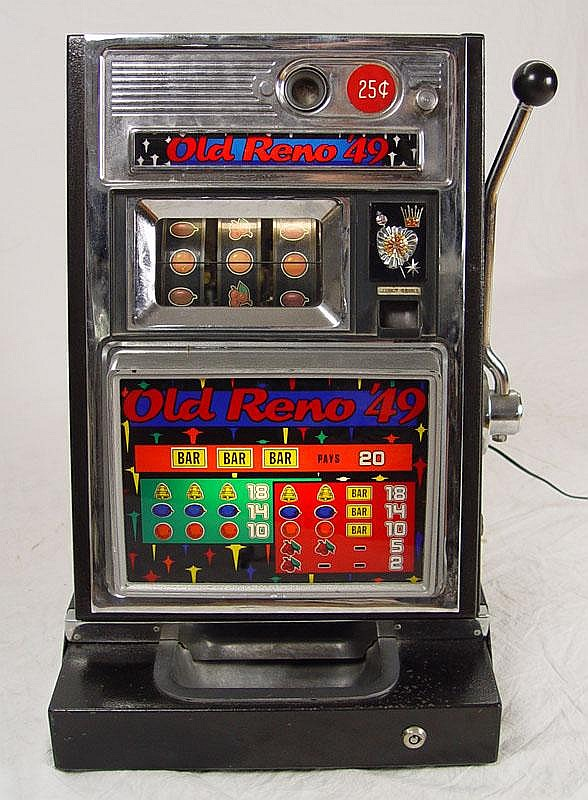 1960 S Old Reno 49 Slot Machine