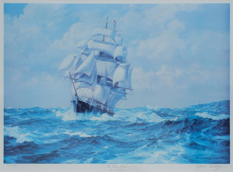 CHARLES VICKERY LITHOGRAPH