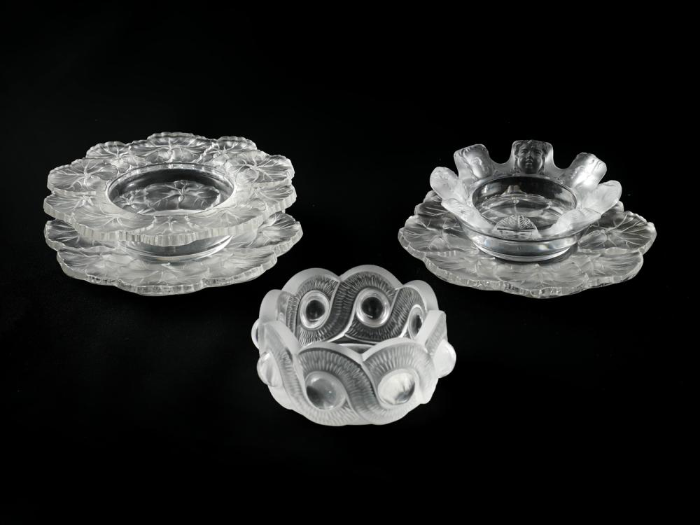 5 PIECE LALIQUE COLLECTION