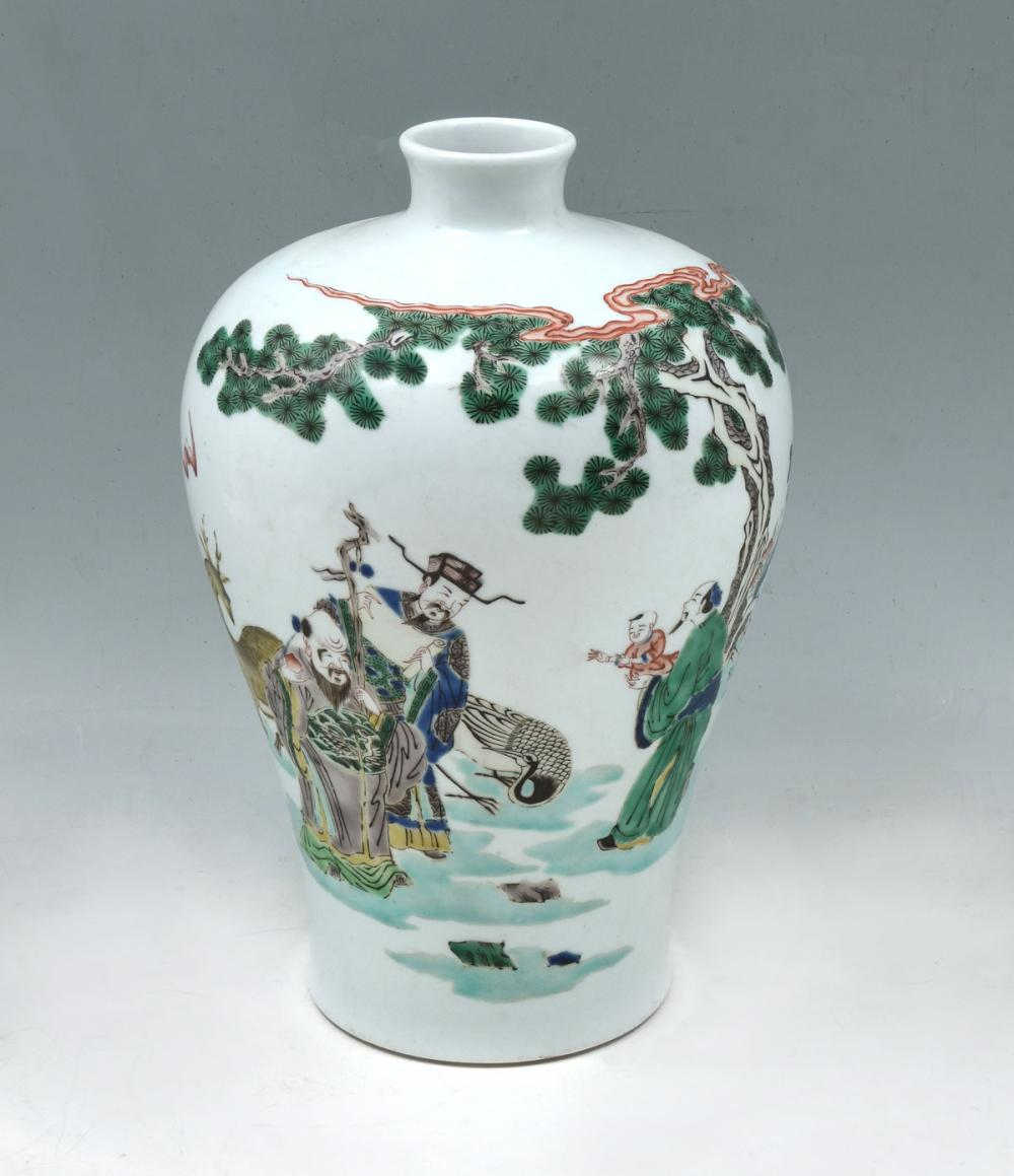 MEIPING FORM CHINESE IMMORTAL VASE