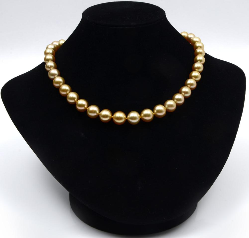 GOLDEN SOUTH SEAS PEARL NECKLACE