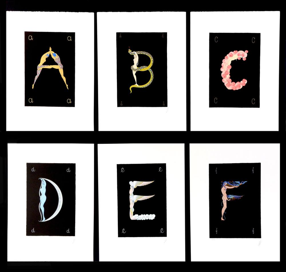 ERTE ALPHABET SUITE