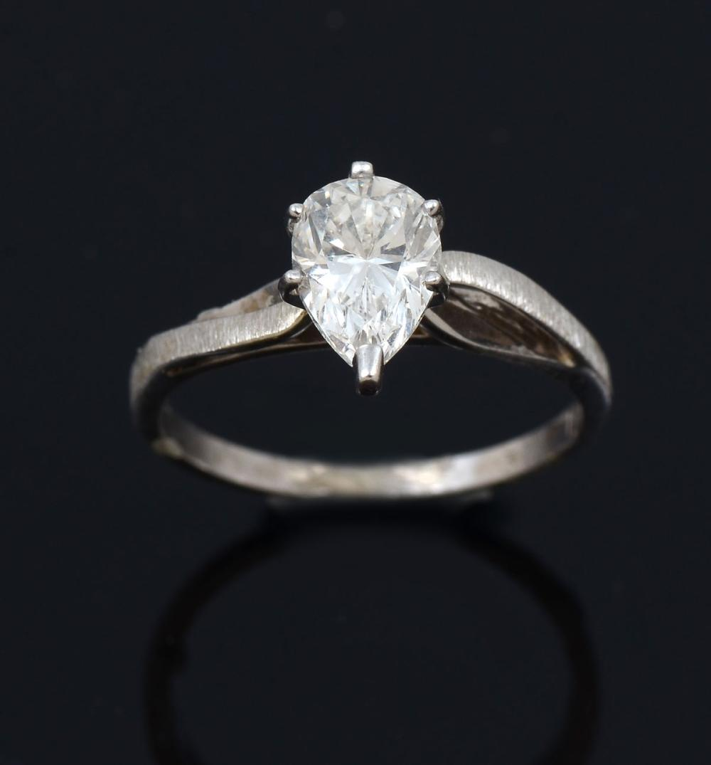 14K 1.06 CT DIAMOND RING