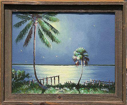 DANIELS, Willy, (American, 20th C.): Florida