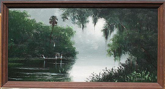 NEWTON, Harold, (American, 1932-1994): Florida