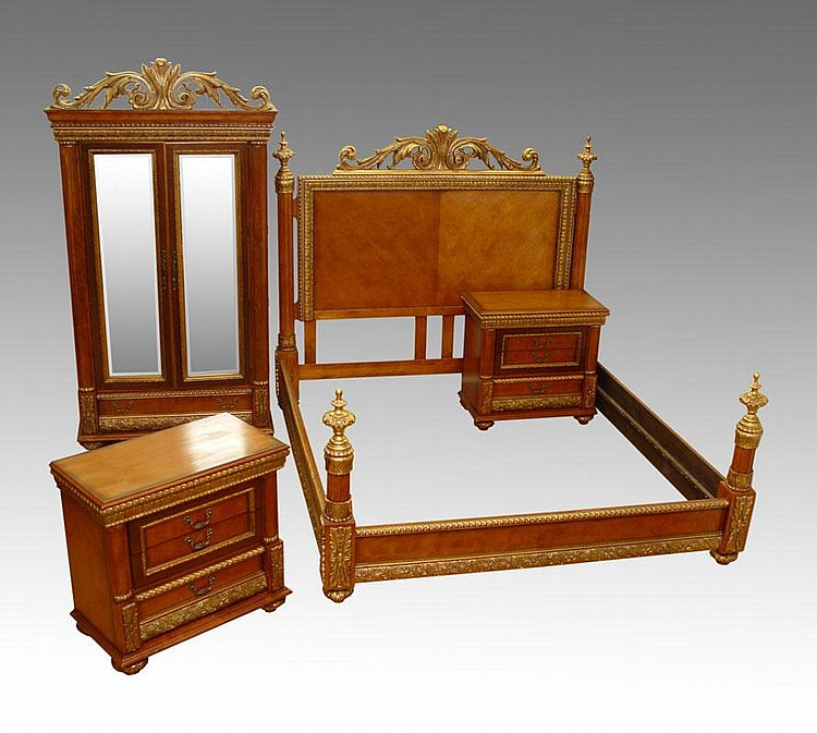 Sold Price 4 Pc Horchow Bellissimo Bedroom Set Invalid Date Edt