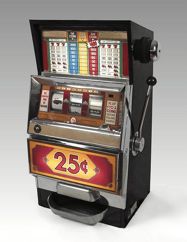 Bally Model 1088 25 Cent Slot Machine