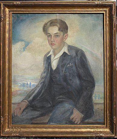 HOFFMANN, Arnold, (American, 1886-1966): Portrait